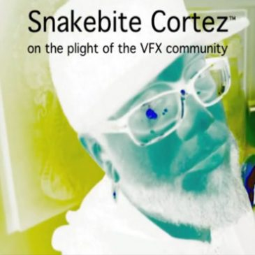 VIDEO: SNAKEBITE COMMENTARY: The Problems in the Visual Effects Community