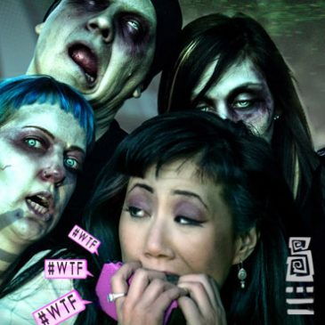 "PHOTOMANIPULATION: MUSIC VIDEO CONCEPT: ""Death to Zombies"""